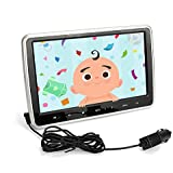 Captiosus 10.1 Inch Portable DVD/CD Player,Smart Audio Video Entertainment System,HDMI & Hi-Res TV LCD Screen - Includes Mounting Bracket,Black