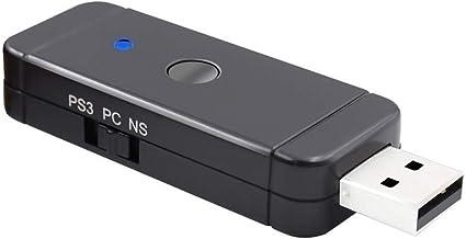 Karruier - Adaptador para mando de videojuegos N-Switch Pro PS3 ...