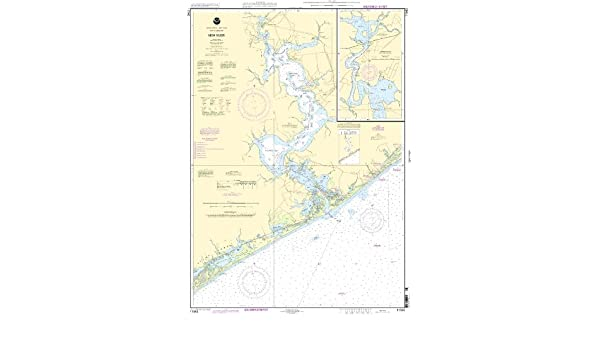 Amazon.com : NOAA Print-On-Demand chart New River - Jacksonville 18th Edition Model: 11542 : Fishing Charts And Maps : Sports & Outdoors