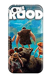 New Premium DvQpGWG7397UUpFM Case Cover For Iphone 4/4s/ The Croods 2013 Protective Case Cover