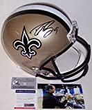 Drew Brees Autographed Hand Signed New Orleans Saints Full Size Football Helmet - PSA/DNA