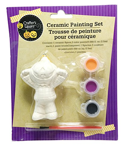 Halloween Ceramic Painting Set ~ Jack O Lantern ()