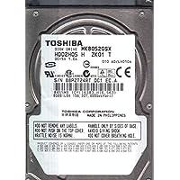 MK3265GSX, A0/GJ002C, HDD2H83 F VL01 B, Toshiba 320GB SATA 2.5 Hard Drive
