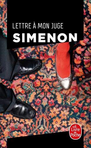 Lettre A Mon Juge Ldp Simenon French Edition Simenon G 9782253142768 Amazon Com Books