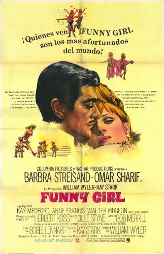 Funny Girl Poster Movie Spanish 11x17 Barbra Streisand Omar