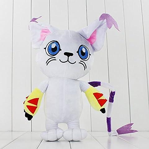 Digimon Plush 12.8 Inch / 33cm Tailmon Doll Stuffed Animals Figure Soft Anime Collection Toy (Digimon Tailmon)