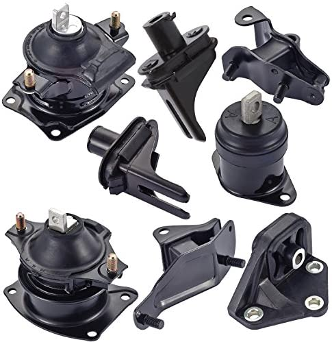 ENA Engine Motor and Trans Mount Kit 8pcs Compatible with 03-07 ...
