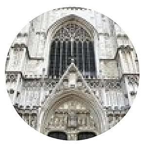 alfombrilla de ratón cathédrale santos-Michel-et-Gudule - ronda - 20cm
