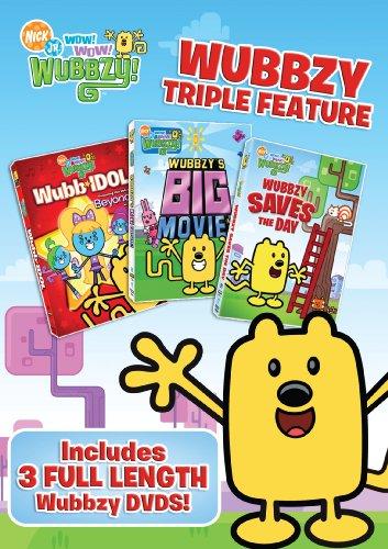 DVD : Wow Wow Wubbzy: Triple Feature (3 Disc)