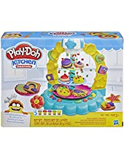 Play-Doh - Sprinkle Cookie Surprise Baking Set - 5 Tubs of Dough + Acc - Creative Kids Toys - Ages 3+