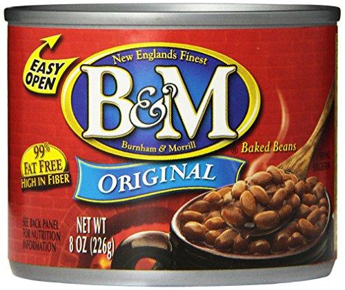 B & M Baked Beans, Original Flavor, 8 Ounce (Pack of 24)