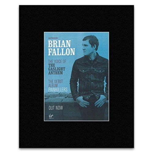 Kerrang Brian Fallon - Painkillers - New Solo Album Mini Poster - 40.5x30.5cm