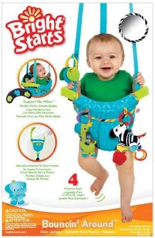 Bright Starts 60138 - Saltador infantil para puertas con altura ...