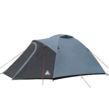 Familienzelt  Kuppelzelt Iglu Zelt 3 Personen Automatik Camping Outdoor Freizeit