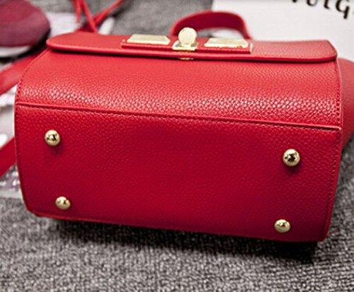 Hiking and Leisure, Borsa a spalla donna Rosso rosso