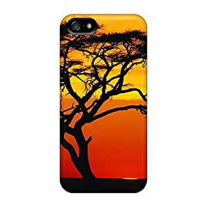 OHI19551Nzkw Cases Skin Protector For Case Samsung Galaxy S3 I9300 Cover Sunset On An Acacia Tree With Nice Appearance