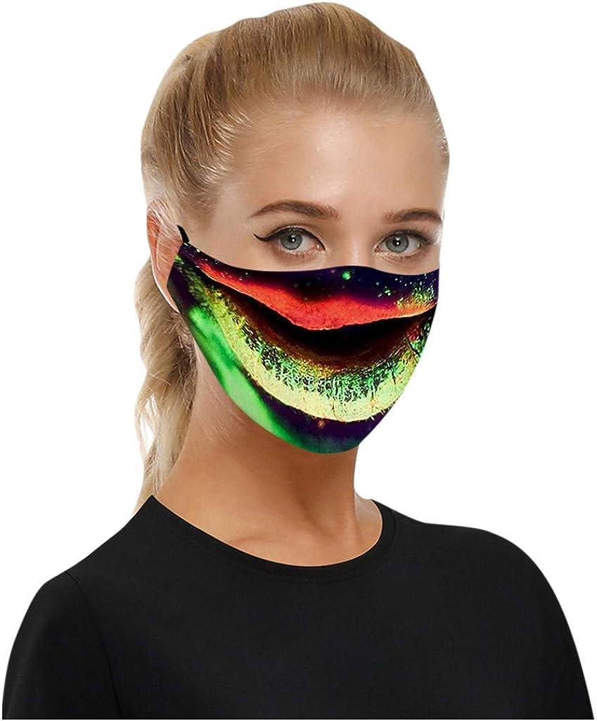 Nasen-Mundbedeckung Multifunktionstuch Schlauchschal Fahrrad Bandana Baumwolle