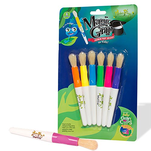 - St/6 Magic Grip Premium Paintbrushes