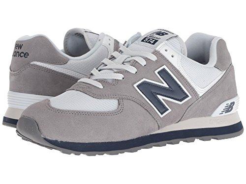 [new balance(ニューバランス)] メンズランニングシューズ?スニーカー?靴 ML574 Gunmetal 15 (33.cm) EE - Wide