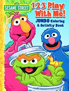 sesame street coloring activity book set of 4 books - Sesame Street Coloring Books