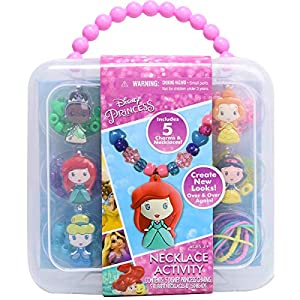 Best Epic Trends 5134gXPnxEL._SS300_ Disney Princess Necklace Activity Set