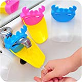 Faucet Extender for Toddlers, Kids, Babies - Sink Handle Extender for Children, Allows Them to Reach the Water - Durable and Safe Faucet Extension Attachment - Perfect Bathroom Accessory or Gift for Baby Shower, Hmost ®
