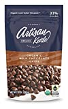 Artisan Kettle Organic Milk Chocolate Chips, 10 Ounce (Pack of 6)