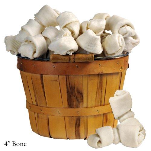 Bulk White Rawhide Bones 4