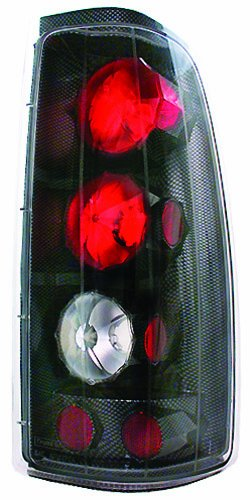 IPCW CWT-CE3039CF Crystal Eyes Carbon Fiber Tail Lamp - Pair - Eye Tail Light Carbon Fiber