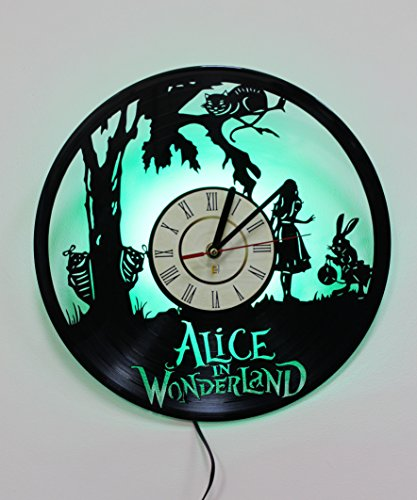 Alice In Wonderland Blue Caterpillar Costume - Alice in Wonderland Bedside Lamp , Night Light Function,Perfect Gift,Led Night Light