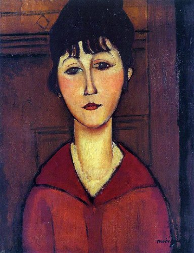 Amedeo Modigliani Head of a Young Girl - 21.05