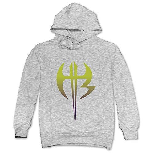 Price comparison product image HX-Kingdom Men's Hoodies-Hardy Boyz Logo Ash Size L