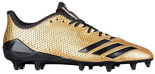 Adidas Adizero 5Star 6.0 Gold Cleat Men's Football 12.5 G...