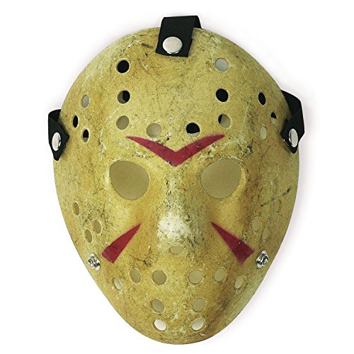 CASACLAUSI Costume Mask Prop Horror Hockey Halloween Cosplay Party