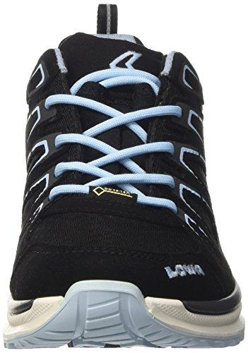 Eisblau Lowa Chaussures Schwarz Gris de WS Randonnée Femme Innox Lo GTX Evo BqxwSgB