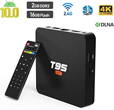 Android 10.0 TV Box, Sidiwen T95 Super Android Box Allwinner H3 ...
