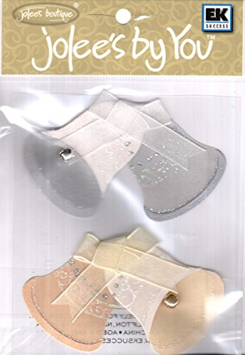 Jolee's By You Dimensional Sticker, Gold and Silver Bell ()