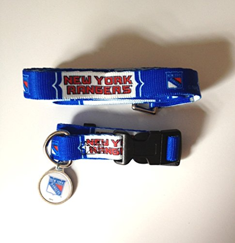 Hunter New York Rangers Pet Combo (Includes Collar, Lead, ID Tag), X-Small