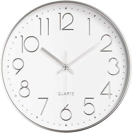 ALEENFOON Orologio da Parete Silenzioso per Soggiorno, Cucina, Design Moderno, 30 cm, Orologio al Quarzo da Parete
