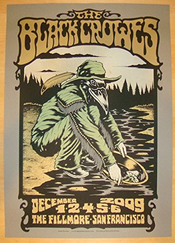 2009-black-crowes-san-francisco-concert-poster-by-alan-forbes