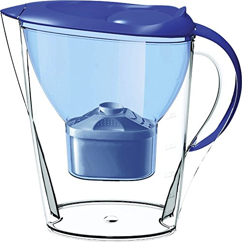 Lake Industries7000 Alkaline Water Filter Pitcher, 7-Stage Cartridge Composed of Ion Exchange Resin, Tourmaline, Mineral Balls and Carbon, Removes Free-Radicals and Eliminates Toxins, 2.5 Liters (Best Water Filter Pitcher Remove Fluoride)