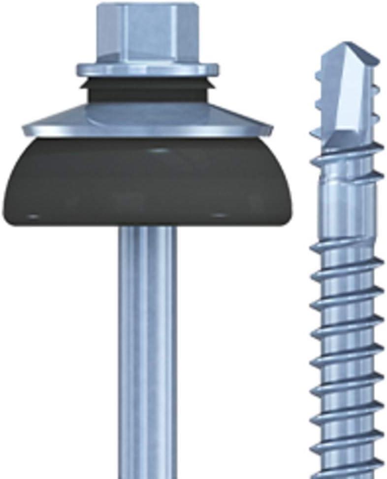 100 REISSER WFBS Wellfaserzementplatten-Bohrschraube f/ür Holz-Unterkonstruktionen 6,5 x 130 mm Stahl feuerverzinkt oder Edelstahl A2 Stahl