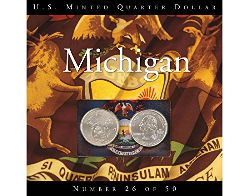 2004 Various Mint Marks Michigan State Quarter Perfect Uncirculated