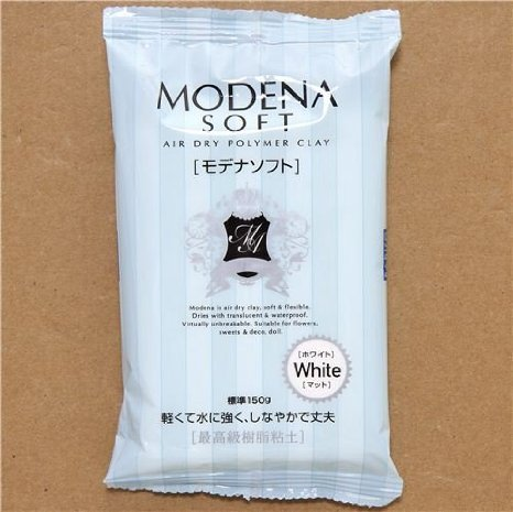 white soft & light Modena soft clay Japan Padico by Padico Clay