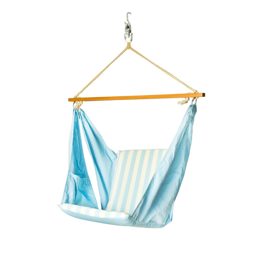 Slack Jack Butterfly Fabric Swing (Blue and White): Amazon