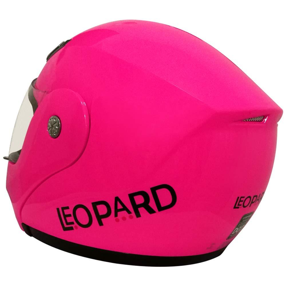 Leopard LEO-717 ECE Approved Flip up Motorcycle Helmet XS-XXL 53-64cm