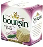 Boursin Shallot and Chive (4 pack)