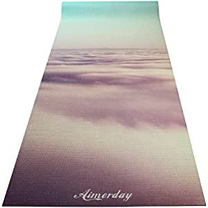 Amazon.com: Aimerday, esterilla para yoga, estampada ...