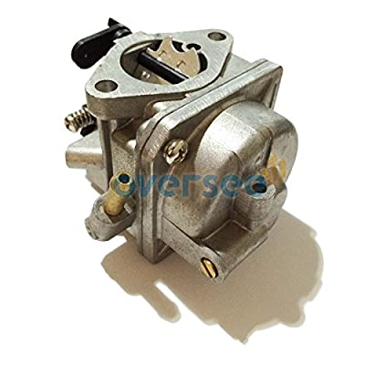 OVERSEE 3R1-03200 Outboard Carburetor For Tohatsu Nissan 4hp 5hp MFS4A MFS5 NFS4 NSF5 Mercury 2.5hp 4-stroke Outboard Engine, CARBURETOR CARB ASSY, Boat Motor Carburetor Assy, Aftermarket Parts
