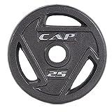 Kyпить CAP Barbell 2-Inch Olympic Grip Plate, 25 lbs на Amazon.com
